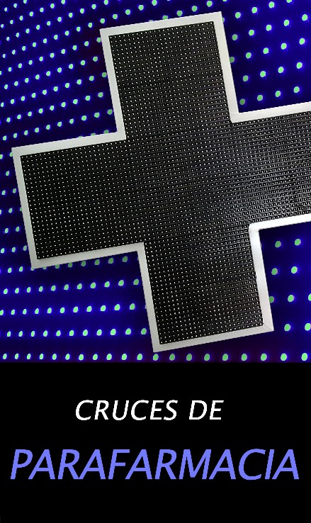CRUCES LED PARAFARMACIA